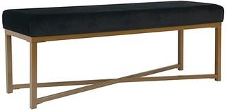 HomePop Velvet Bench
