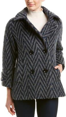 Cinzia Rocca Zigzag Wool, Alpaca, & Mohair-Blend Jacket