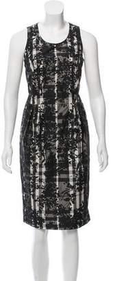 Burberry Printed Midi Dress