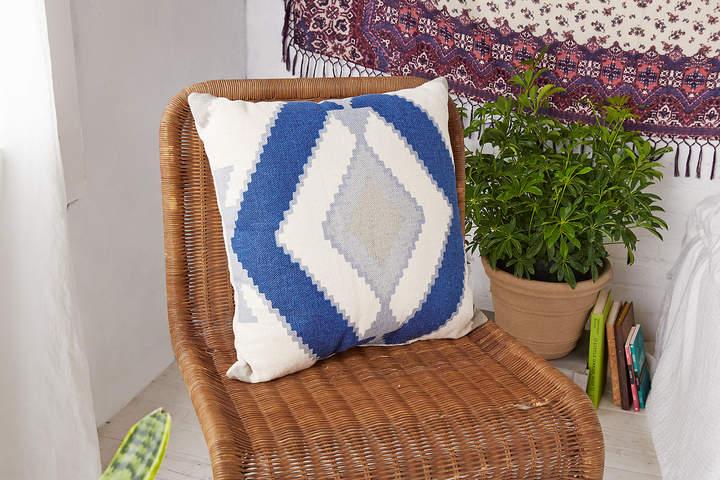 Aeo AEO APT Blue Geo Pillow