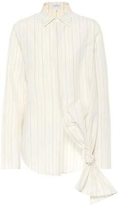 Loewe Knot cotton-blend shirt