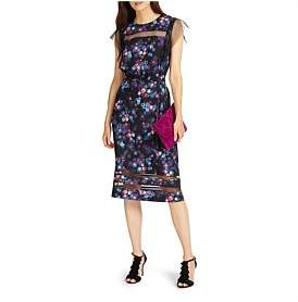 Phase Eight Kacy Floral Print Dress