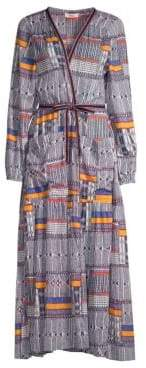 Lemlem Kente Empress Robe Dress