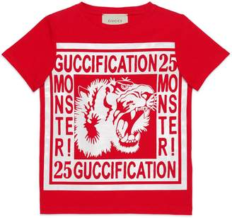 "Gucci Children's ""Guccification Monster!"" T-shirt"