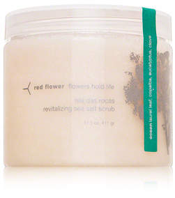 Red Flower Flowers Hold Life Isla das Rocas Revitalizing Sea Salt Scrub - Ocean