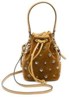 Fendi Mon Tresor Velvet Bucket Bag