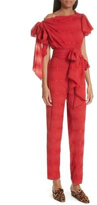 Rachel Comey Stance Silk Blend Jumpsuit