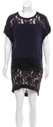 AllSaints Embellished Mini Dress