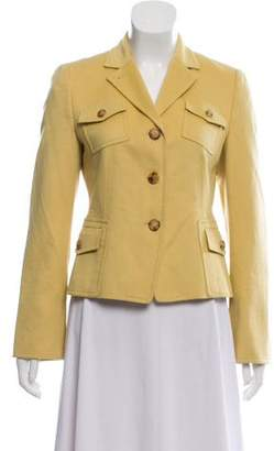 Akris Punto Wool Notch-Collar Jacket