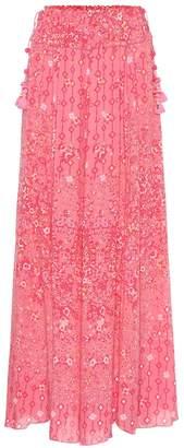 Poupette St Barth Jena paisley-print maxi skirt