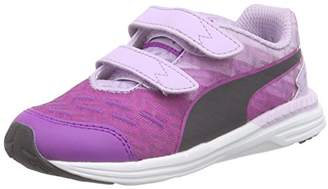 Puma Unisex Kids' Speed 300 V Inf Running Shoes Purple Size: