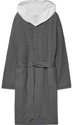 Hamilton and Hare Loopback Cotton-Piqué Robe