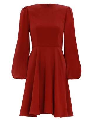 Zimmermann Blouson Sleeve Mini Dress