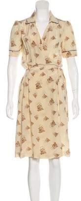 Cavallini Erika Silk Midi Dress