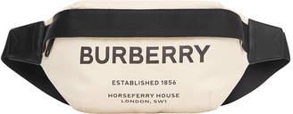 Burberry Sonny Medium Canvas Belt Bag