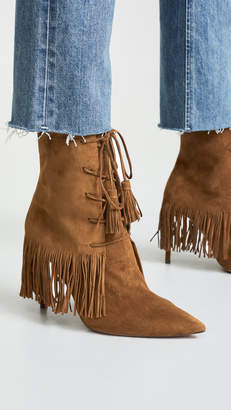 Aquazzura Mustang 105mm Booties