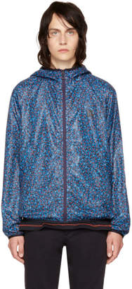 Paul Smith Blue Multidot Hooded Jacket