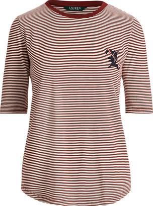 Ralph Lauren Striped Jersey Top