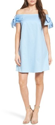 Women's Soprano Off The Shoulder Shift Dress $49 thestylecure.com