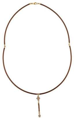 Charriol Diamond Cable Lavalier Necklace