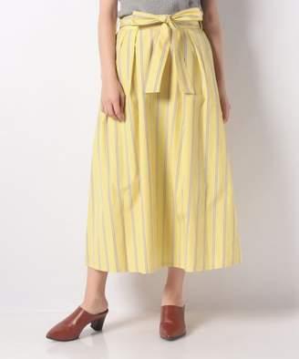 Nimes (ニーム) - NIMES ストライプリボン付スカート