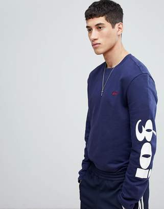 Gio-Goi Sweat With Arm Embroidery