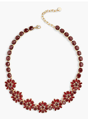 Talbots Poinsettia Necklace