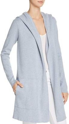 Minnie Rose Hooded Open-Front Cardigan