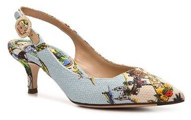 Dolce & Gabbana Fabric Slingback Pump