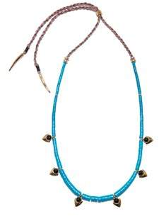 Lizzie Fortunato Turquoise Simple Necklace of Length 33-73cm