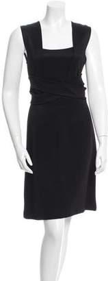 Givenchy Draped Sheath Dress w/ Tags