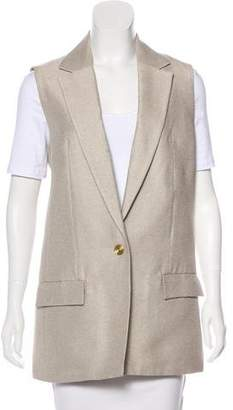 Acne Studios Notch-Lapel Blazer Vest