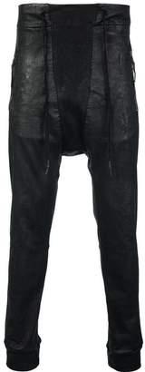 11 By Boris Bidjan Saberi drop-crotch trousers