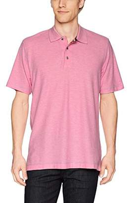Robert Graham Men's Messenger Short Sleeve Pique Polo