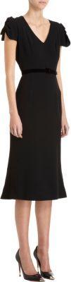 L'Wren Scott Belted Dress