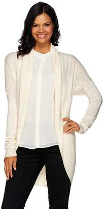 Halston H By H by Shawl Collar Long Sleeve Cocoon Sweater Cardigan