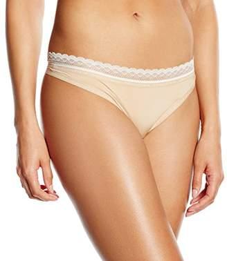 Calvin Klein Women's Thong String,(Manufacturer Size: Large)