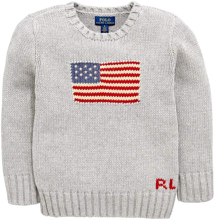 Flag Knitted Sweater