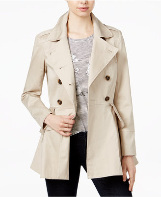 Maison Jules Ruffled Trench Coat, Only at Macy's $149.50 thestylecure.com