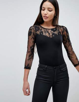 AX Paris Body With Lace Sleeve