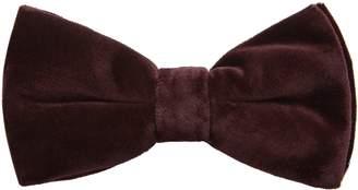 Reiss Brando Velvet Bow Tie