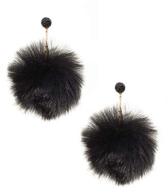 Kate Spade Chic & Cushy Pouf Drop Earrings