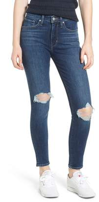 Levi's 721(TM) Ripped High Waist Skinny Jeans