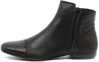 EOS Noni-w Black Boots Womens Shoes Casual Ankle Boots