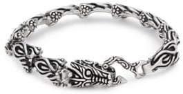Dragon Optical Stainless Steel Bracelet