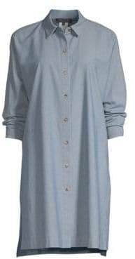 Lafayette 148 New York Kyrie Button-Front Blouse