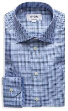 Eton Contemporary-Fit Textured Twill Dress Shirt