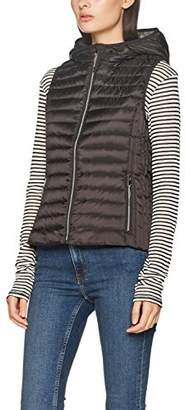 Esprit Women's 077ee1h001 Outdoot Gilet, (Black 001), Small