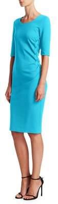 Emporio Armani Braided Sheath Dress