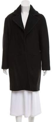 The Arrivals Wool-Blend Knee-Length Coat